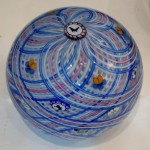 Paperweight by Mike Hunter, Twists Glass